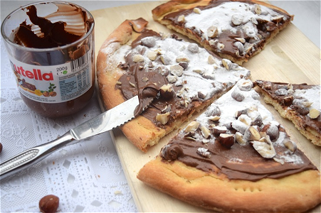 Foto Pizza Nutella