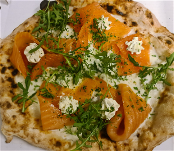 Foto Pizza Zalm